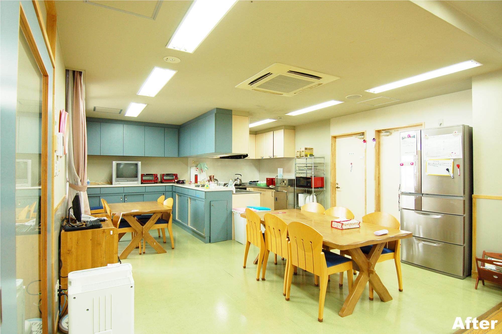 中日青葉学園あおば館-小規模化事業