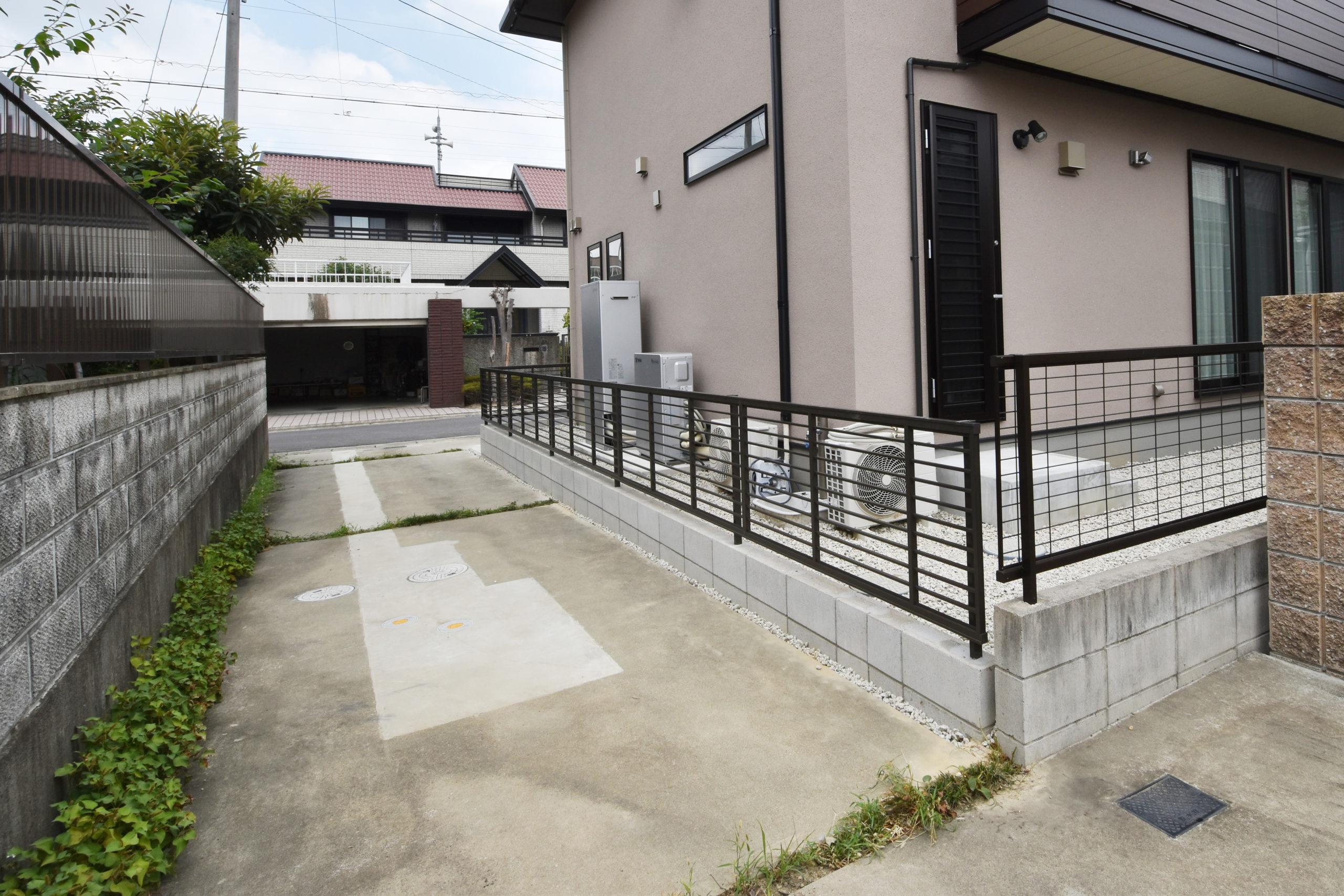 春田建設株式会社 施工実績 K邸外構工事